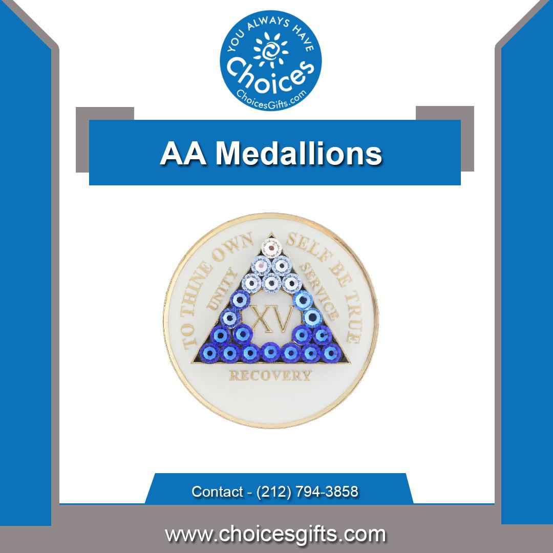 1-year aa medallion