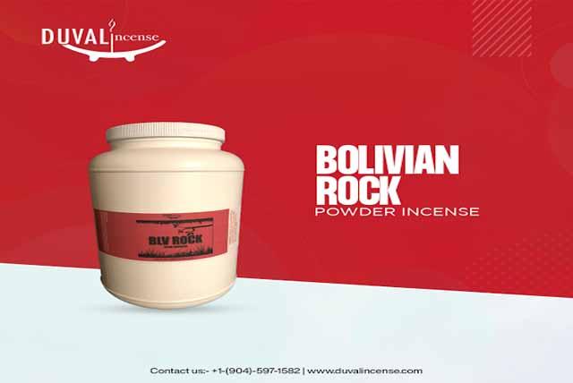 Bolivian Rock Powder Incense in Florida