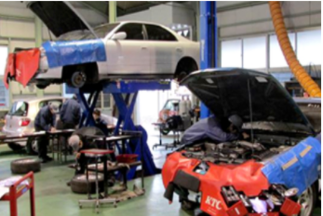 auto body repair shop services