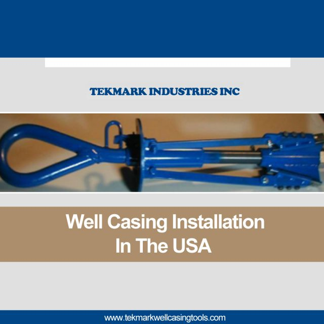 Well Casing Installation in the USA